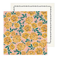 Crate Paper - Heritage Collection - 12 x 12 Double Sided Paper - Margaret