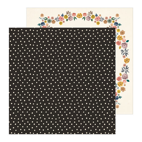 Crate Paper - Heritage Collection - 12 x 12 Double Sided Paper - Sincerely