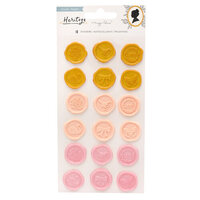 Crate Paper - Heritage Collection - Puffy Stickers