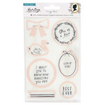 Crate Paper - Heritage Collection - Dies and Clear Acrylic Stamps