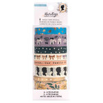 Crate Paper - Heritage Collection - Washi Tape Set with Gold Foil Accents