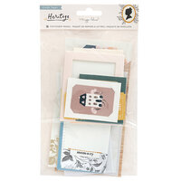 Crate Paper - Heritage Collection - Cards and Envelopes - Stationery Pack - Vellum with Gold Foil Accents