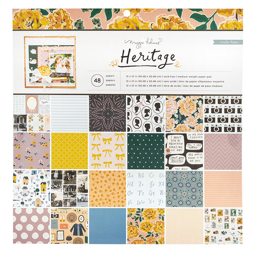 Crate Paper - Heritage Collection - 12 x 12 Paper Pad