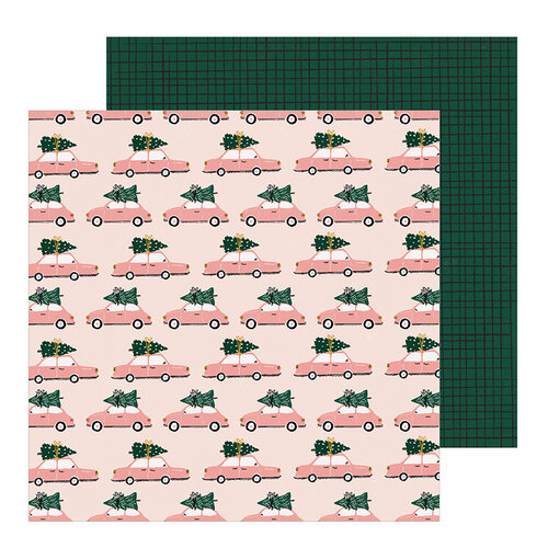 Crate Paper - Snowflake Collection - 12 x 12 Double Sided Paper - Very Merry