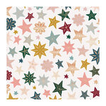 Crate Paper - Snowflake Collection - 12 x 12 Specialty Paper with Foil Accents - Joyous
