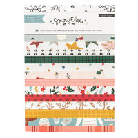 Crate Paper - Snowflake Collection - 6 x 8 Paper Pad with Foil Accents