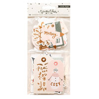 Crate Paper - Snowflake Collection - Ephemera with Foil Accents