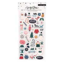 Crate Paper - Snowflake Collection - Puffy Stickers