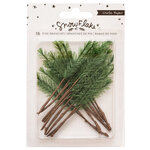 Crate Paper - Snowflake Collection - Embellishments - Pine Branches