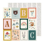 Crate Paper - Magical Forest Collection - 12 x 12 Double Sided Paper - Willow