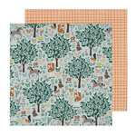 Crate Paper - Magical Forest Collection - 12 x 12 Double Sided Paper - Imaginary