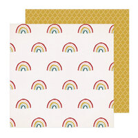 Crate Paper - Magical Forest Collection - 12 x 12 Double Sided Paper - Sunlight