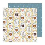 Crate Paper - Magical Forest Collection - 12 x 12 Double Sided Paper - Critters