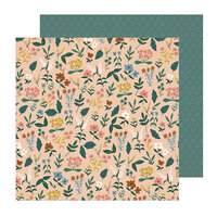 Crate Paper - Magical Forest Collection - 12 x 12 Double Sided Paper - Meadow