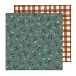 Crate Paper - Magical Forest Collection - 12 x 12 Double Sided Paper - Garden