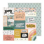 Crate Paper - Magical Forest Collection - 12 x 12 Double Sided Paper - Always