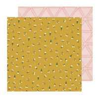 Crate Paper - Magical Forest Collection - 12 x 12 Double Sided Paper - Wildflower