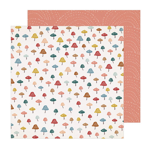 Crate Paper - Magical Forest Collection - 12 x 12 Double Sided Paper - Discover