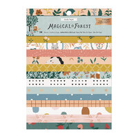 Crate Paper - Magical Forest Collection - 6 x 8 Paper Pad with Foil Accents