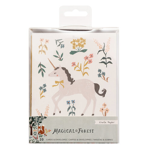 Crate Paper - Magical Forest Collection - Card Set