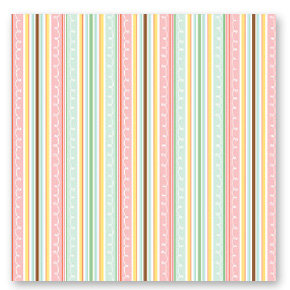 American Crafts - Dear Lizzy Spring Collection - 12 x 12 Fabric Paper - Snapdragon Soiree, CLEARANCE