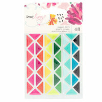 American Crafts - New Day Collection - Enamel Dots