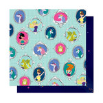 American Crafts - Head in The Clouds Collection - 12 x 12 Double Sided Paper - Never Grow Up