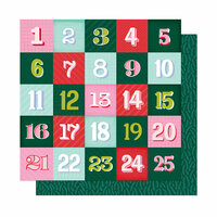 American Crafts - Head in The Clouds Collection - 12 x 12 Double Sided Paper - Counting Wishes