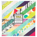 American Crafts - Color Kaleidoscope Collection - 12 x 12 Paper Pad