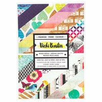 American Crafts - Color Kaleidoscope Collection - 6 x 8 Paper Pad