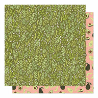 1 Canoe 2 - Saturday Afternoon Collection - 12 x 12 Double Sided Paper - Meadow Grass