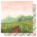 1 Canoe 2 - Saturday Afternoon Collection - 12 x 12 Double Sided Paper - Mountain Path