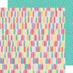 American Crafts - Stay Sweet Collection - 12 x 12 Double Sided Paper - Color Pop Paradise