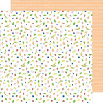 American Crafts - Stay Sweet Collection - 12 x 12 Double Sided Paper - Fruit Cocktail