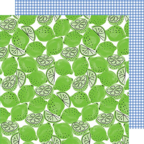 American Crafts - Stay Sweet Collection - 12 x 12 Double Sided Paper - Lime Light