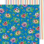 American Crafts - Stay Sweet Collection - 12 x 12 Double Sided Paper - Flower Fun