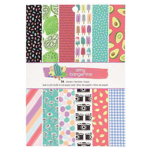 American Crafts - Stay Sweet Collection - 6 x 8 Paper Pad