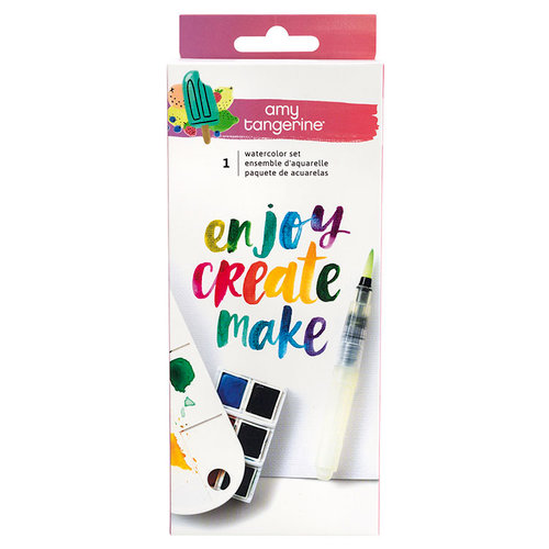 American Crafts - Stay Sweet Collection - Watercolor Set