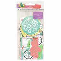 American Crafts - Stay Sweet Collection - Ephemera with Foil Accents