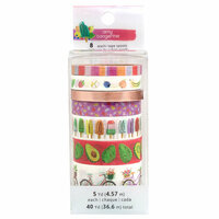 American Crafts - Stay Sweet Collection - Washi Tape with Foil Accents