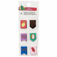 Amy Tangerine - Stay Sweet Collection - Tiny Magnetic Bookmarks with Foil Accents