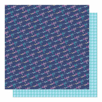 American Crafts - Sparkle City Collection - 12 x 12 Double Sided Paper - It's Wonderful