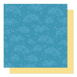 American Crafts - Sparkle City Collection - 12 x 12 Double Sided Paper - Stargazing