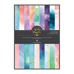 Kelly Creates - 6 x 8 Paper Pad with Foil Accents - Galaxy