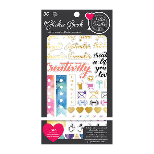 Kelly Creates - Sticker Book with Foil Accents
