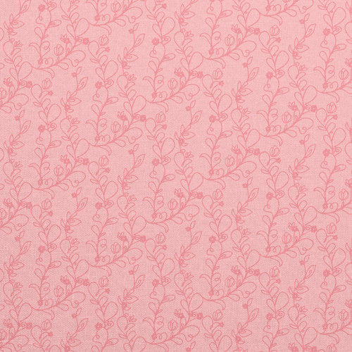 American Crafts - Dear Lizzy Spring Collection - 12 x 12 Fabric Paper - Peony Party, CLEARANCE