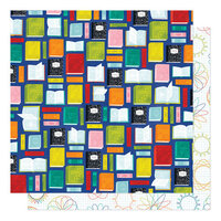 Shimelle Laine - Field Trip Collection - 12 x 12 Double Sided Paper - Learn Something New