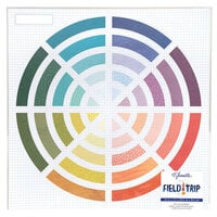 Shimelle Laine - Field Trip Collection - 12 x 12 Specialty Paper - Die-Cut Cardstock