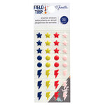 American Crafts - Field Trip Collection - Stickers - Enamel Dots