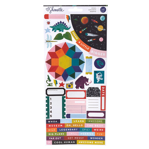 American Crafts - Field Trip Collection - Stickers - Accent & Phrase